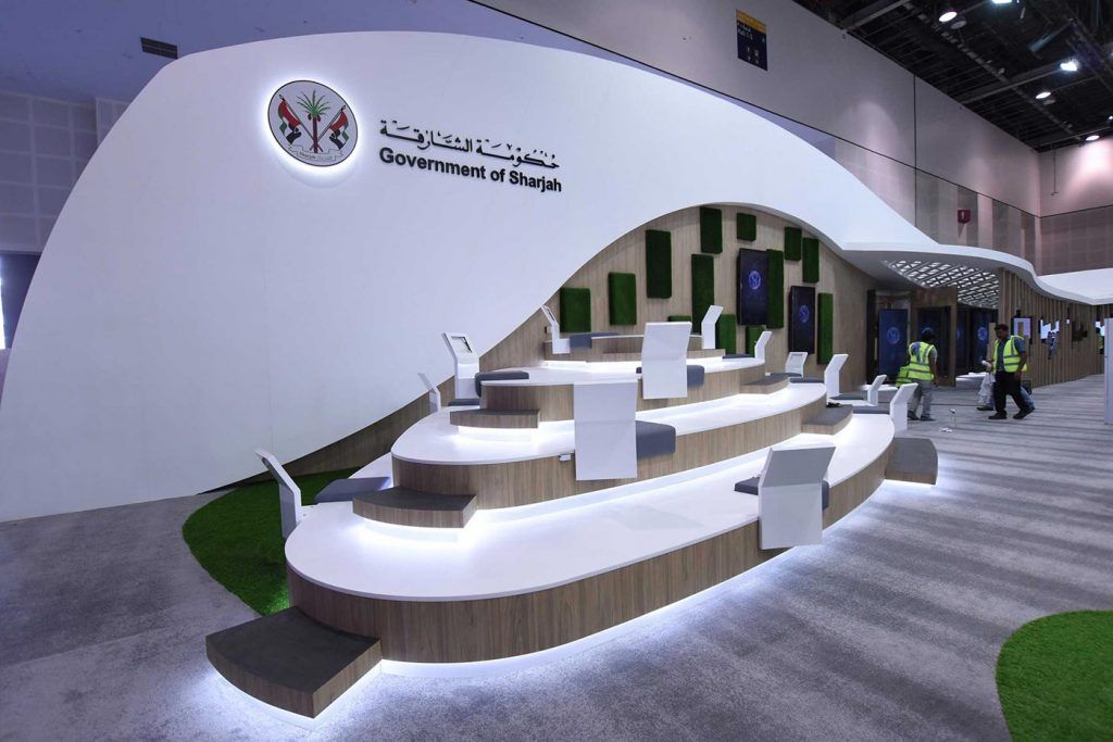 Exhibition Stand Builders In Sharjah : Melon exhibitions exhibition stand design build interiors